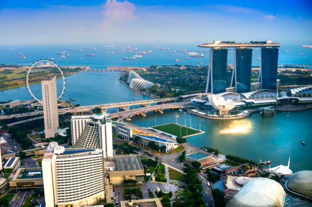 Singapour a accueilli près de 17 millions de visiteurs internationaux en 2018. - Depositphotos