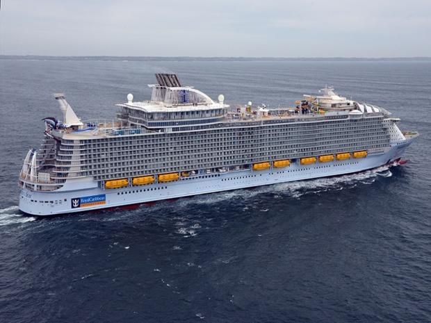 Le Symphony of the Seas est le 4ème navire de la classe Oasis de Royal Carribean International.- DR Royal Carribbean International