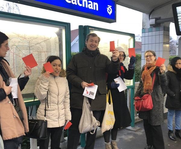 CDG Express : la contestation populaire monte contre le projet - Crédit photo : Plus de Trains
