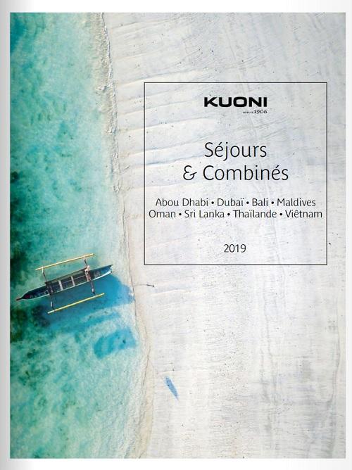La brochure Séjours & Combinés de Kuoni dédiée à l'Asie et à la Péninsule Arabique - DR