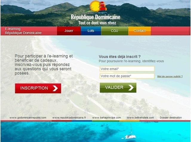 La République Dominicaine lance son e-learning.