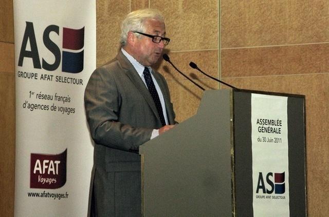 Le volume d'affaires TO et centrale hôtelière n'a pas progressé : 690 millions d'euros sur les deux exercices, 1,025 milliards d'euros pour l'aérien en 2010 sur 1 milliard en 2009
