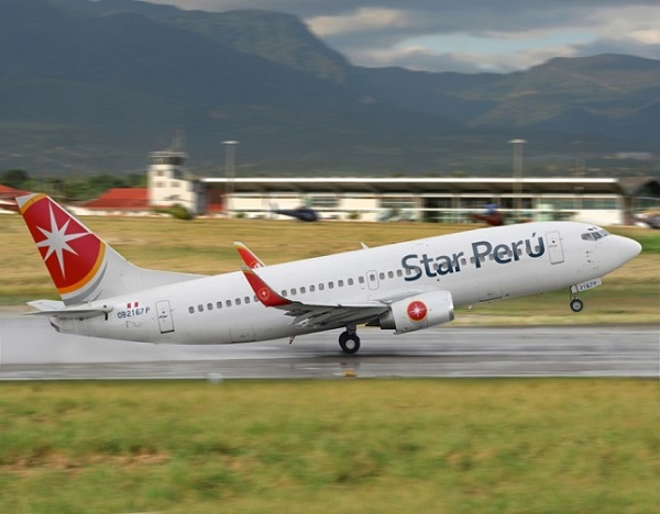 Star Peru est une compagnie aérienne péruvienne, basée à l'aéroport International Jorge Chavez à Lima - DR