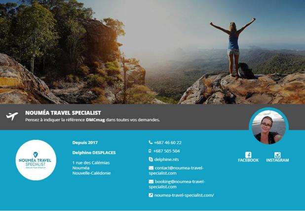 Noumea Travel Specialist rejoint l'annuaire des réceptifs - DR