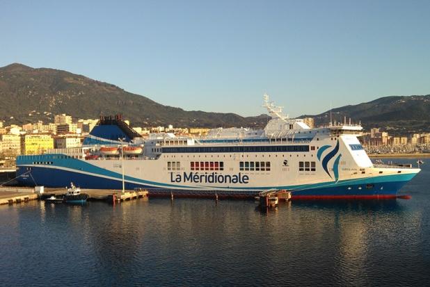 Les traversées sont annulées lundi 24 et mardi 26 février 2019 - Photo girolata Bouteillon Ludovic