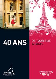 """L'Office du Tourisme de Paris célèbre ses """"40 ans de tourisme"""""""
