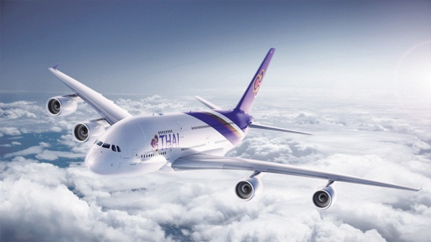 Suite à la fermeture soudaine de l'espace aérien pakistanais, Thai Airways a annulé tous ses vols vers l'Europe hier, laissant sur le carreau des milliers de passagers - DR : Thai Airways