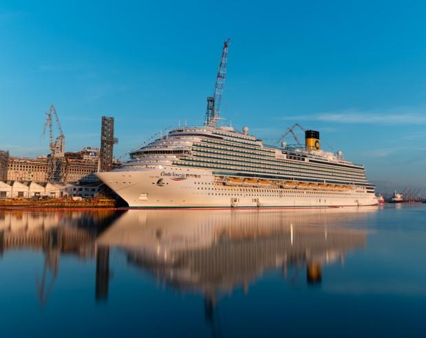 Le Costa Venezia est le plus grand navire jamais introduit par Costa sur le marché chinois - DR : Costa Croisières
