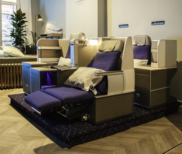 La Business Class offrira une capacité de 30 sièges - DR Brussels Airlines