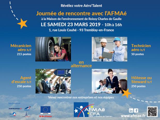 Participez à la journée de rencontre avec l'AFMAé - www.afmae.fr