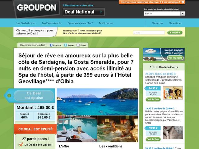 Taxe de séjour fantôme et Spa réel, mais payant... Groupon assigné en justice ?