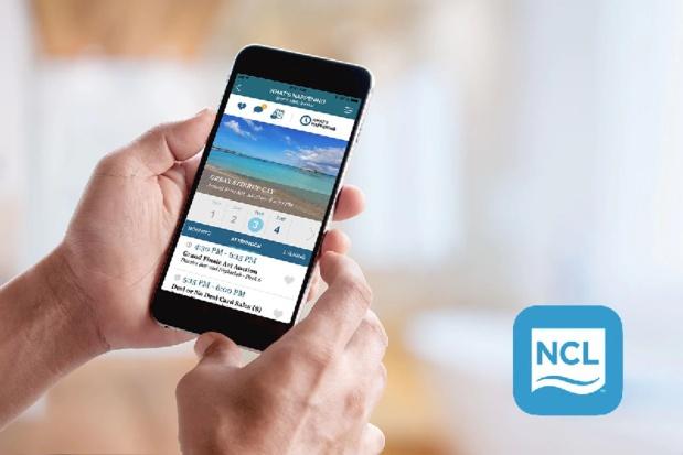 « Cruise Norwegian » permet d'effectuer des réservations de dernière minute, de consulter les activités proposées à bord, d'envoyer des messages - DR : NCL