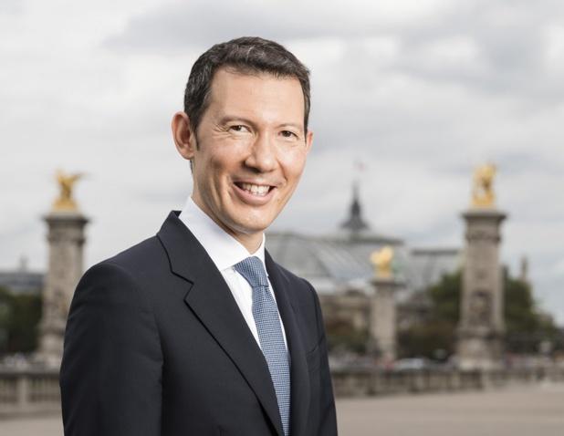 Benjamin Smith, actuel PDG d'Air France-KLM amorce 2019 sous de bons auspices. L'horizon est dégagé, et le groupe sur la bonne voie - Photo Air France Corporate