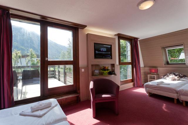 L'hôtel club comporte également 84 chambres de 2 à 5 lits - DR