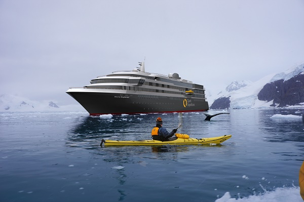 Quark Expeditions a fait du marché Français son pari de l'année 2019 - Crédit photo : Quark Expeditions