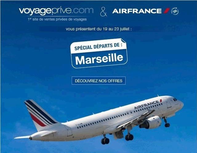 Voyage-Privé.com lance une première newsletter au départ de Province