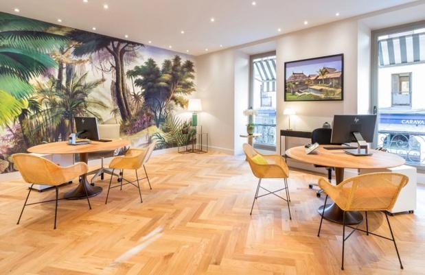 L'espace de 130 m² est installé au 1er étage du Palais Querçy, ancien palais niçois, situé au-dessus de la boutique Chanel. - Photo Club Med