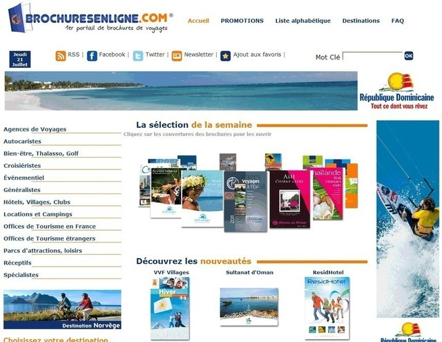 Les brochures en ligne répondent à plusieurs besoins : économique et écologique en réduisant le coût et le nombre de parution papier.