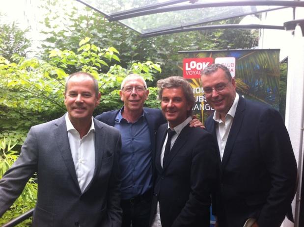 L'équipe de Transat : Patrice Caradec, Philippe Béchon, Serge Laurens et Michel Quenot - DR Tourmag