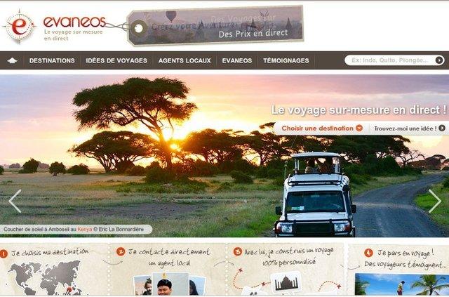 Lancé en juin 2009, le site propose de mettre directement en relation les clients avec des réceptifs locaux francophones sélectionnés.