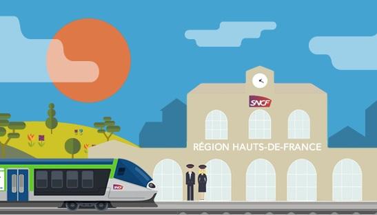 SNCF : la tempête perturbe le trafic vers ou depuis les Hauts-de-France - Crédit photo : Compte Facebook TER Hauts de France