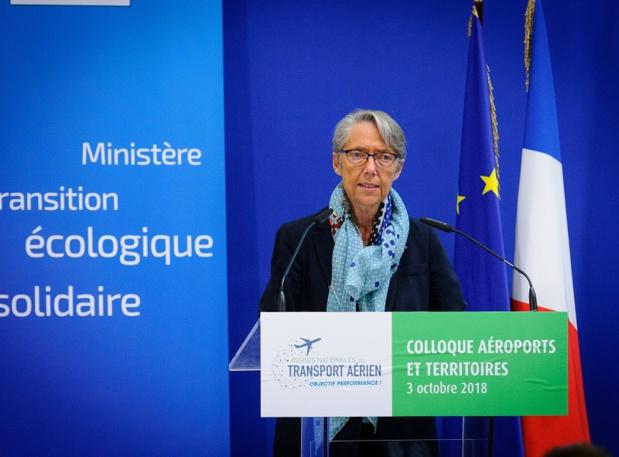 Elisabeth Borne, a annoncé la conclusion des Assises du transport aérien, vendredi 8 mars 2019, près d'un an après leur lancement - DR : Assises nationales du transport aérien
