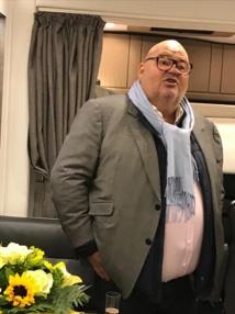 Michel Salaün à bord du Motor Home - DR DG