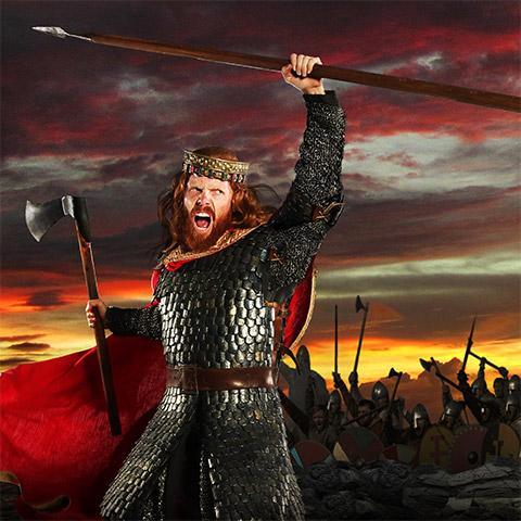 Le Premier Royaume, le nouveau grand spectacle à la gloire de Clovis Roi des Francs. Collection Puy du Fou.