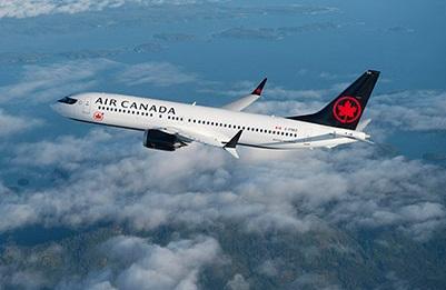 Air Canada compte dans sa flotte 24 appareils Boeing 737 MAX - Photo Air Canada