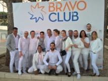 L'équipe Bravo Club - DR