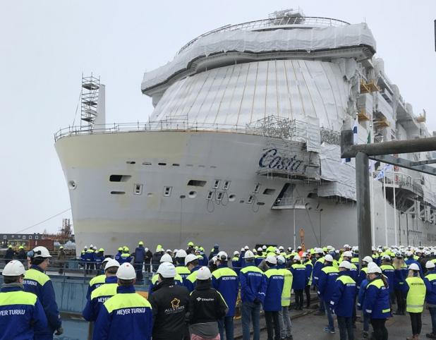 Le bateau proposera, jusqu'en avril 2021, des croisières d'une semaine incluant Savone, Marseille, Barcelone, Palma de Majorque, Civitavecchia/Rome et La Spezia - DR : Costa Croisières