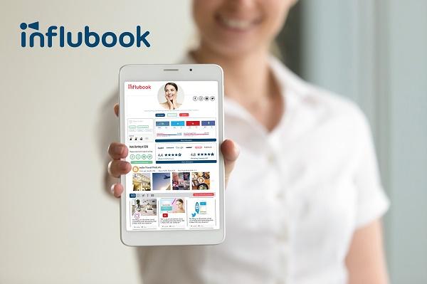 Influbook se veut comme le tripadvisor des influenceurs - Crédit photo : Influbook