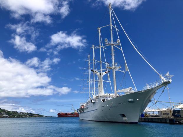 Pour 2019, 1010 escales sont prévues en Polynésie française, dont 118 en tête de ligne sur Papeete qui est désormais le 4 ème port français pour l'embarquement de passagers /crédit photo JDL