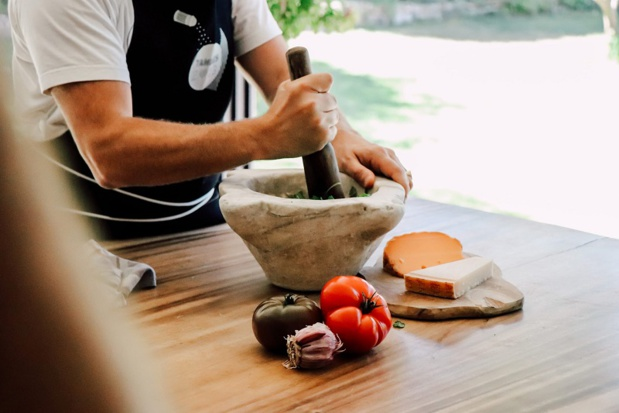 MPG2019 célèbre, durant un an, la gastronomie provençale, dans tous ses états. Ici, le pistou - © Amélie Blondiaux
