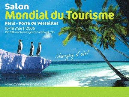 Salon mondial du tourisme les to cherchent le contact direct for Salon e tourisme