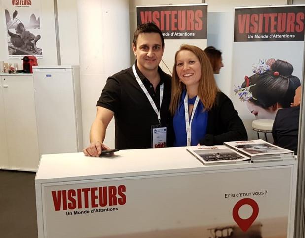 Patrice Arezina est présent sur le DITEX 2019, à Marseille - DR : C.E.