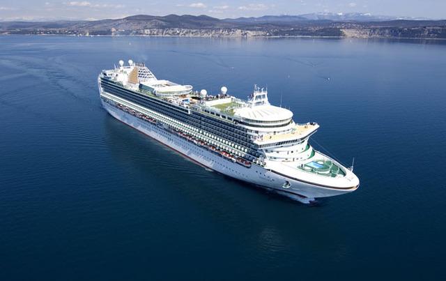 P&O Cruises possède une flotte récente composée de 7 navires - DR : P&O Cruises