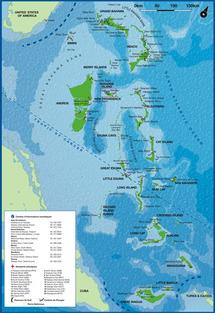 Bahamas : l'Ouragan Irene remonte vers le nord de l'archipel