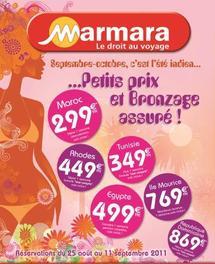 Marmara lance son offre « été indien »