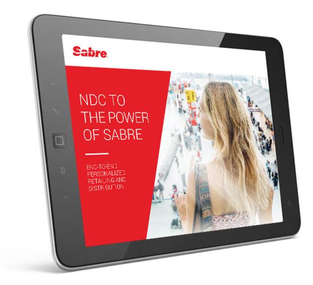 Sabre travaille avec toutes ses compagnies aériennes partenaires Beyond NDC afin d'intégrer leur contenu NDC dès cette année, précise un communiqué - Photo Sabre NDC