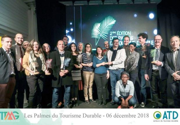 Les Lauréats 2018 des Palmes du Tourisme Durable - DR PDTD