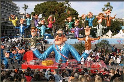 Succès ''mitigé'' pour le Carnaval de Nice