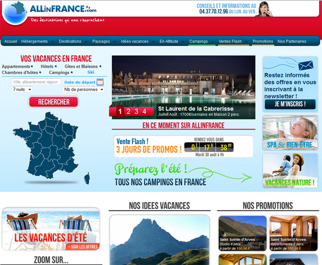 Allinfrance.com change d'actionnaires