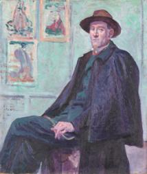 Francis Fénéon, Éditeur, critique d'art et grand collectionneur / crédit photo MQB