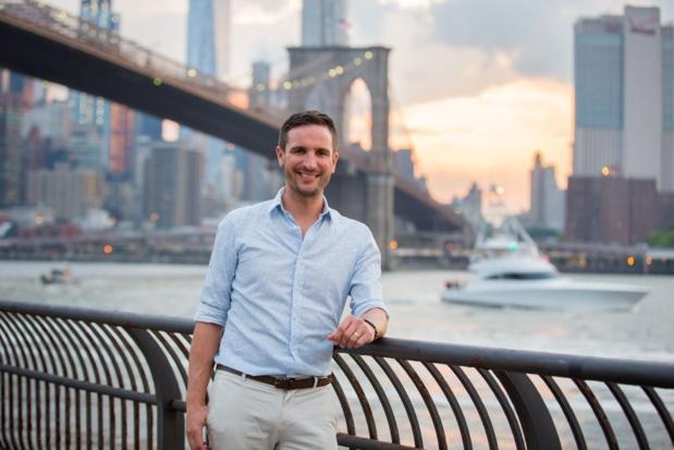 """Alex, fondateur de Voyage en Français : """"J'ai créé l'agence New-York en Français il y a 4 ans. J'ai maintenant 11 guides sur places, tous des expatriés français qui proposent des visites touristiques"""" - DR"""