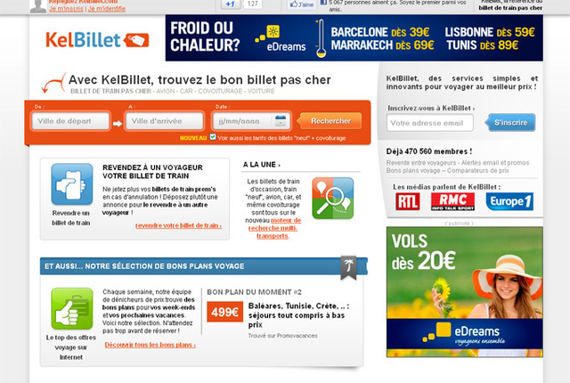 """Yann Raoul : """"Le profil type de nos visiteurs reste les femmes (à 60%) âgées de 25 à 45 ans, typiquement la working girl parisienne, qui ne bénéficie plus de la carte de réduction 12-25 ans de la SNCF, et cherche des billets en Prem's"""" - DR"""