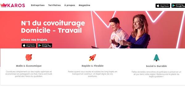 Karos : l'appli de covoiturage courte-distance facilite les trajets vers l'aéroport de Toulouse - crédit photo : Karos