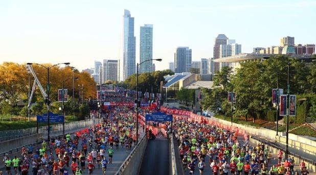 Le marathon de Chicago aura lieu en octobre 2019 - Photo World Marathon