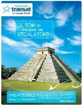 Première campagne institutionnelle pour Vacances Transat