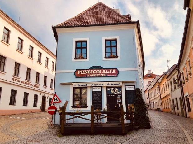 La paisible ville de Tabor, destination touristique sur la route qui relie Prague à Český Krumlov /crédit photo JDL